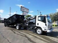 2019 Isuzu NPR HD 14FT SWITCH-N-GO..ROLLOFF TRUCK SYSTEM WITH CONTAI 25 Miles Wh