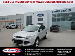 2015 Ford Escape SE 4WD LEATHER SYNC TRAILER TOW CLASS II