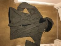 Green Craghoppers Aquadry men's coat XL.