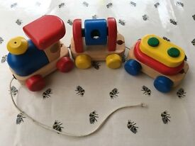 Wooden toys £4 each