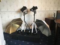 Bowens Studio Lighting Kit