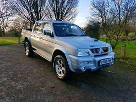 MITSUBISHI L200 ANIMAL 2005! LOW MILES! MUST SEE!