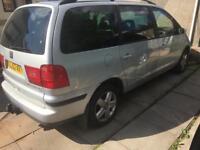2002 Seat Alhambra 115 Bhp Automatic 1.9 Tdi Sharan Galaxy SPARES OR REPAIR