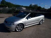 Vauxhall Astra Convertible Berton 1.8 2002 MOT March 2017 GOOD CONDITION P/X WELCOME