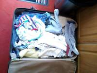 Baby clothes size 0 to 3, 50p an iteam or 30 pounds the lot.