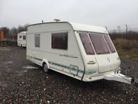 Abi herald 4 berth 16/17 ft 2000 model Electric heating system hot cold running water 3 way