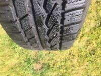Winter tyres on steel rims x 4 Snow Grabber 235/70 R16.