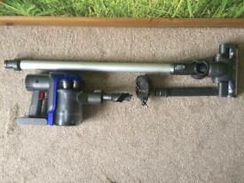 Dyson cordless vacuum cleaner / hoover DC35 bagless, Handstick