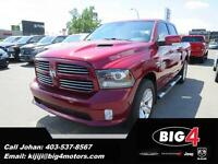 2013 Ram 1500 Sport Crew, 4WD, Fully Loaded!
