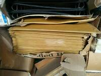 Envelopes and packaging job lot