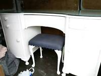 Dressing table and stool £70