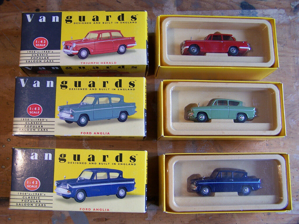 Collection of LLEDO VANGUARDS 1:43 and 1:64 scale diecast metal ...
