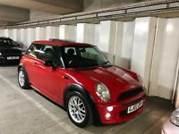MINI ONE 1.6 COOPER RED WITH PANORAMIC ROOF MOT VOSA 2017 AUGUST HPI CLEAR PX WELCOME BARGAIN CASH