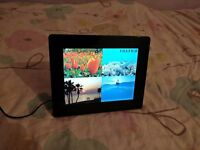 "Fujifilm Digital Photo Frame 6.5"" screen in perfect working condition with stand and power adapter."