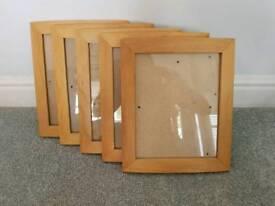 10x8 inch Frames x 5