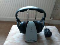 Sennheiser TR130 Wireless Surround Sound Headphones (With Charging Base)