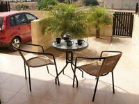 Quiet Cypriot village apartment with private garden