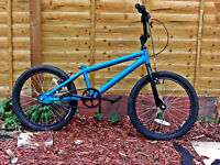 BMX BIKE IN IMMACULATE CONDITIION AS HAS ONLY BEEN RIDEN ONCE
