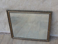 Vintage quality mirror 62 x 53(Delivery)