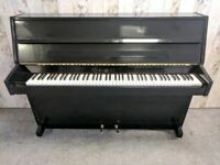 Stunning Gloss Black 'Bentley' Upright Console Piano - CAN DELIVER