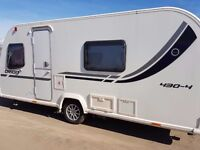2011 bailey orion fixed bed 430 caravan