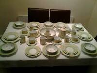 Marks & Spencers Yellow Rose Dinner Set