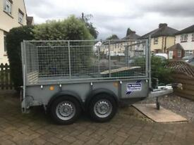 Iforwillams 8x4 trailer 3yrs old great condition not used much like new £2300.00ono