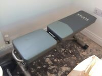 York Fitness 5 Seat Position Weights Bench