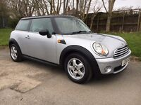 MINI COOPER 1.6 PETROL 2008 58 REG LADY OWNED, CHEAP ROAD TAX BAND, PART EXCHANGE WELCOME.
