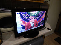 """Samsung 19"""" HD TV with integrated Freeview."""