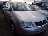 Volkswagen Touran 2.0 SE DSG 5dr (7 seats) (Automatic) 12 months MOT