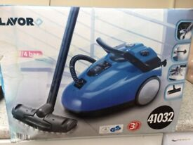 lavor pro steam cleaner in box with all accessories ideal for home indoor and outdoor