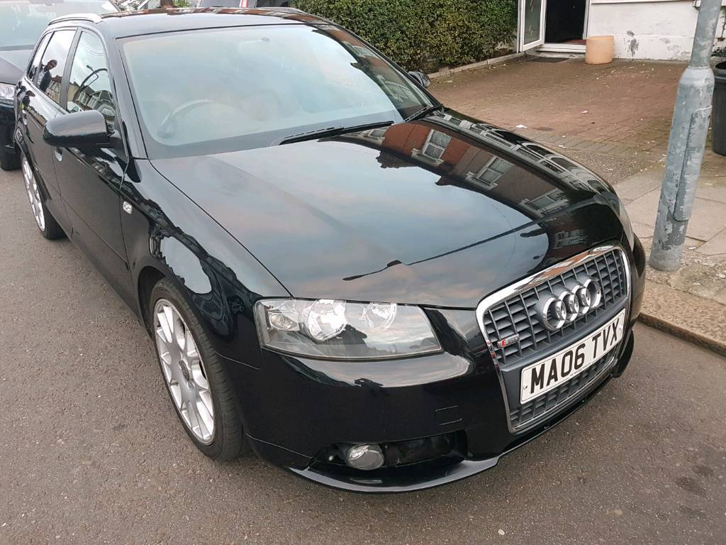 audi a3 s line 2006 in barking london gumtree. Black Bedroom Furniture Sets. Home Design Ideas