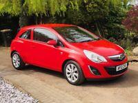 Vauxhall, CORSA, Hatchback, 2012, Manual, 1248 (cc), 3 doors