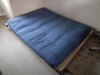 Solid Pine Double Futon Bed