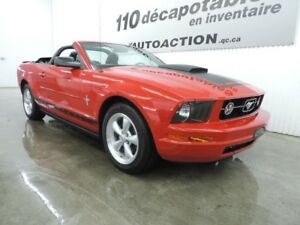 2007 Ford Mustang PONEY PACKAGE DÉCAPOTABLE - CUIR - PNEUS & FRE