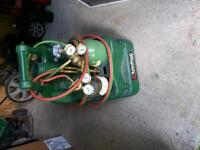 yellow jacket vacuum pump & oxygen and acetylene torches