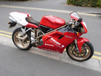 Ducati 996 Biposto with Foggy Replica Paintwork