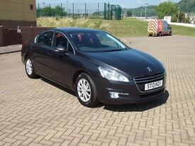 Peugeot 508 1.6 SR HDi 2013 One Owner FPSH Sat Nav Blue Tooth 12 Months MOT Excellent Condition