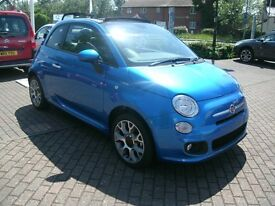 2014 FIAT 500C S CONVERTIBLE 1 LADY OWNER IMMACULATE CONDITION.