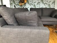 3 Seater, Large Dwell Sofa - mint condition, nearly new