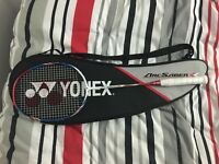 Used a couple times, brand new condition, no marks, genuine racket