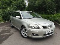 2006 (06) Toyota Avensis 1.8 VVT-i T3-X ESTATE 83,000 MILES IMMACULATE
