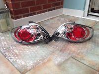 Pair customized peugeot Rear cars