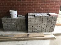 Brand new Grey block paving for sale