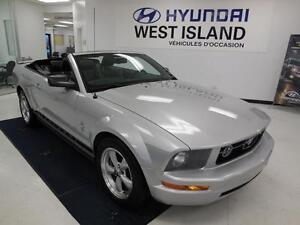 2008 Ford Mustang V6 4.0L RWD CONVERTIBLE 86$/semaine