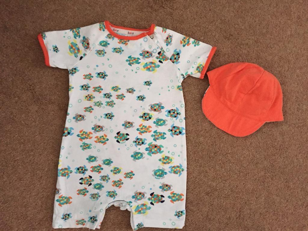 34eceea6448535 TED BAKER baby romper suit 3-6 months