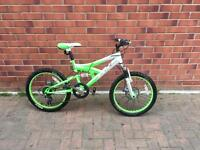 "Kids bike 20"" wheels with disc brakes"