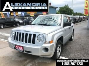 2008 Jeep Patriot Sport 168km