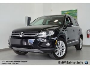 2016 Volkswagen Tiguan Highline, AWD, Toit Ouvrant Panoramique